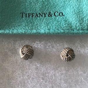 Tiffany & Co.  Somerset Knot Stud Earrings